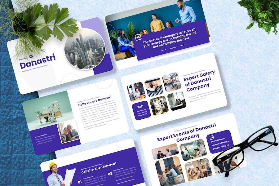 Danastri - Multipurpose Powerpoint Template