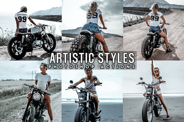 Thumbnail for Artistic Lifestyles Photoshop Actions