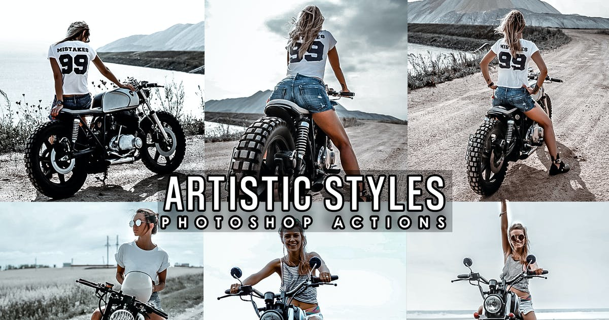 Download Artistic Lifestyles Photoshop Actions by 2lagus