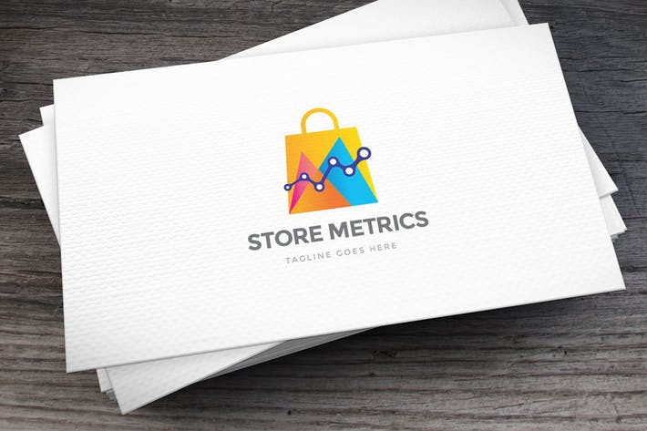 Thumbnail for Store Metrics Logo Template