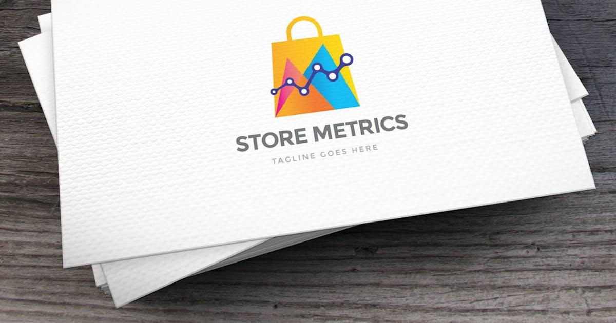 Store Metrics Logo Template by empativo