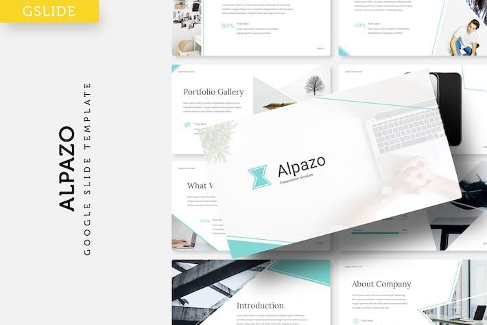 Thumbnail for Alpazo - Google Slide template