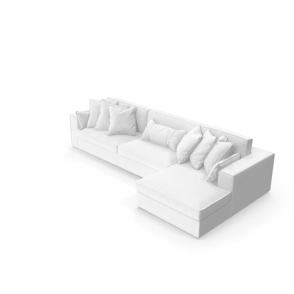 Thumbnail for Corner Sectional Sofa