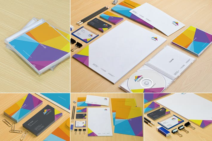 Thumbnail for Stationery Mockups