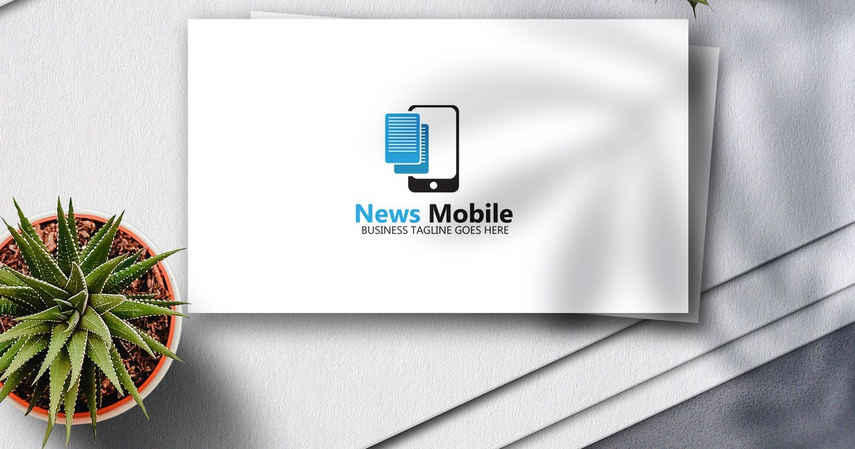 Download News Mobile Logo by Voltury