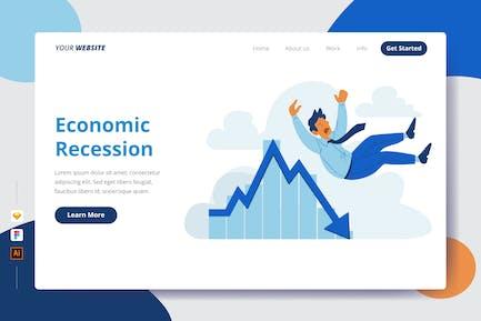 Economic Recession - Landing Page