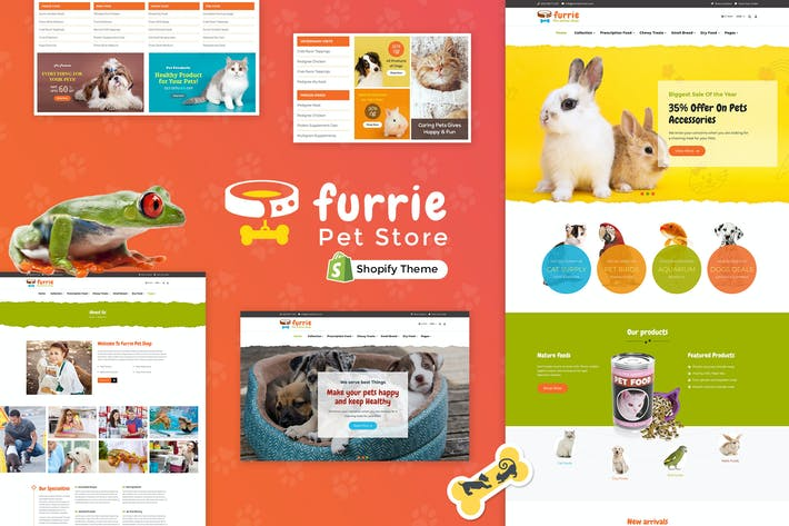 Thumbnail for Furrie | Shopify Pet Store, Animal Care Services