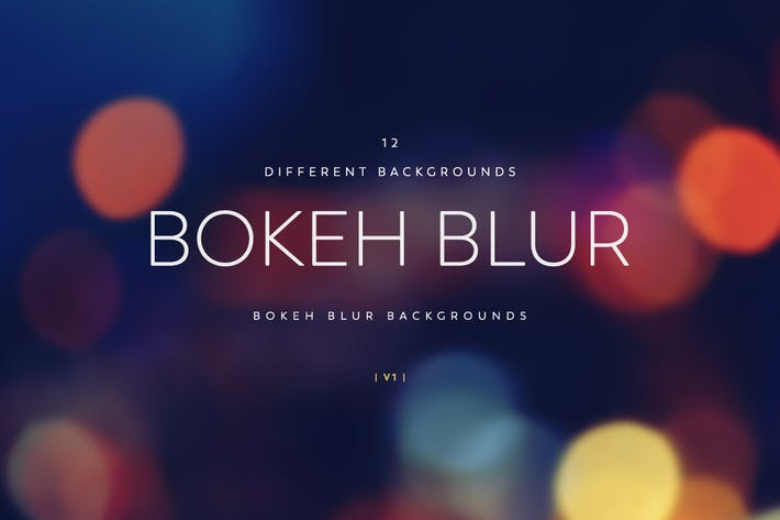 Thumbnail for Blur Bokeh Backgrounds V1