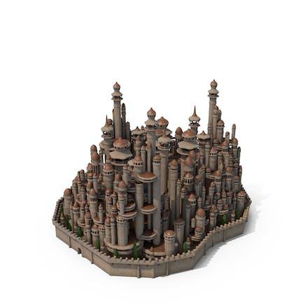 Fantasy tower City
