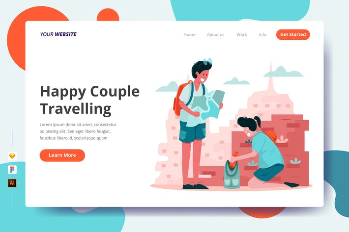 Thumbnail for Happy Couple Voyage - Page de destination