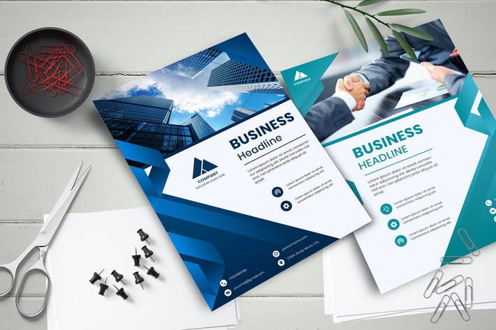 Thumbnail for Corporate business flyer template