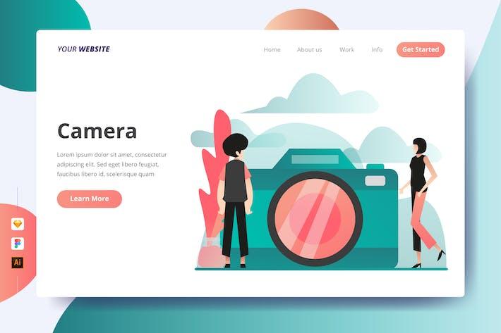 Thumbnail for Camera - Landing Page