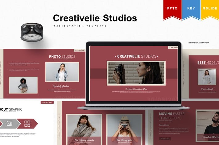 Thumbnail for Creativelife Studios | Presentation Template