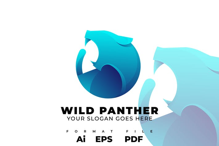 Thumbnail for Wild Panther Logo Template