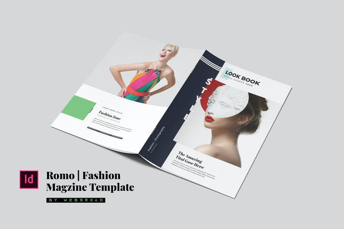Thumbnail for Romo | Fashion Magazine Template
