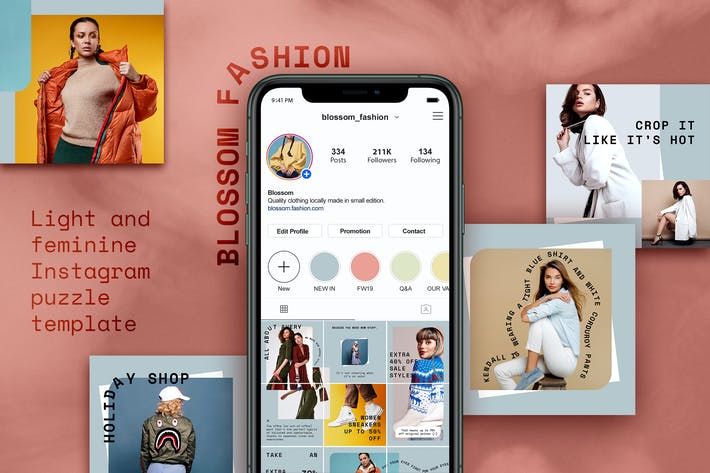 Thumbnail for Instagram Fashion Puzzle