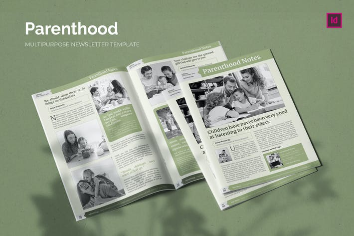 Thumbnail for Parenthood Notes - Newsletter Template