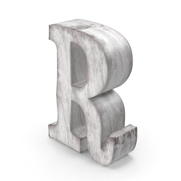Wooden Decorative Letter R