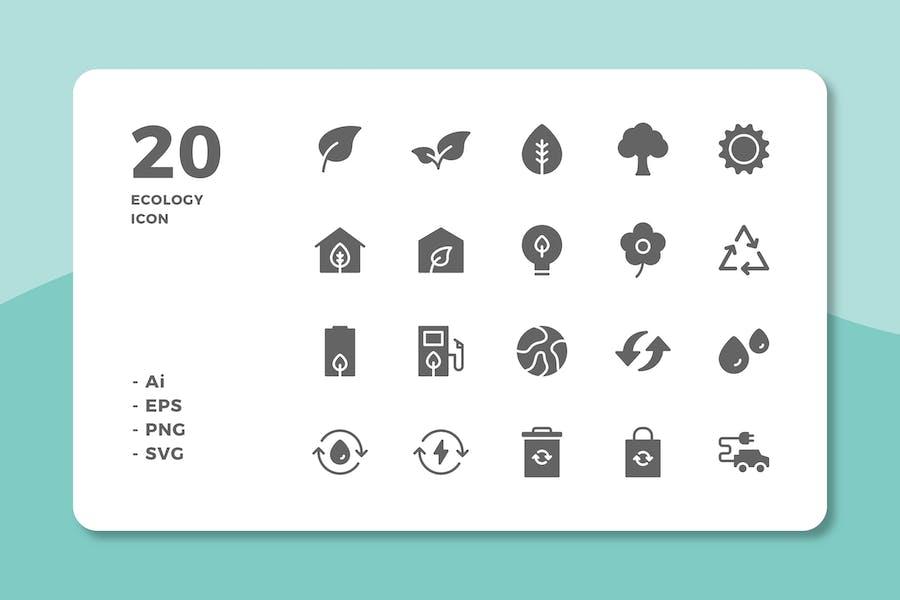20 ÖkologieIcons (solide)
