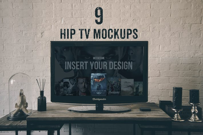 Thumbnail for Hip TV mockups