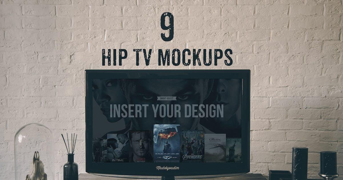 Download Hip TV mockups by Madebyvadim