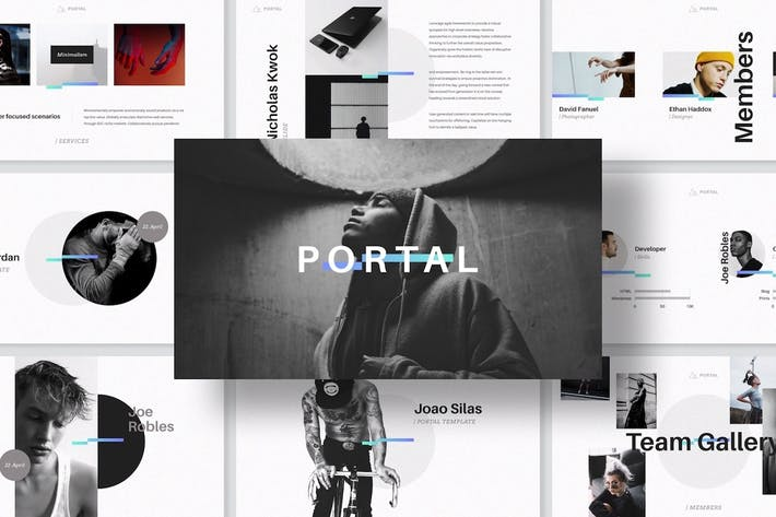 Thumbnail for PORTAL Keynote Presentation Template