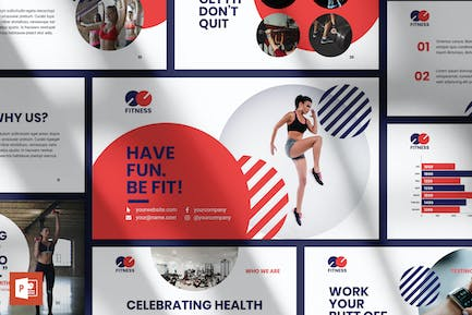 Fitness Trainer PowerPoint Presentation Template