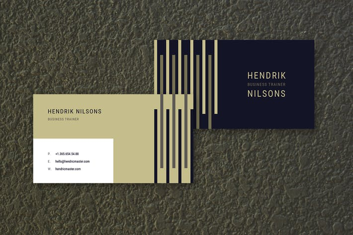 Thumbnail for Hendrik Business Card Template