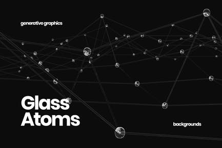 Glass Atoms Background Set