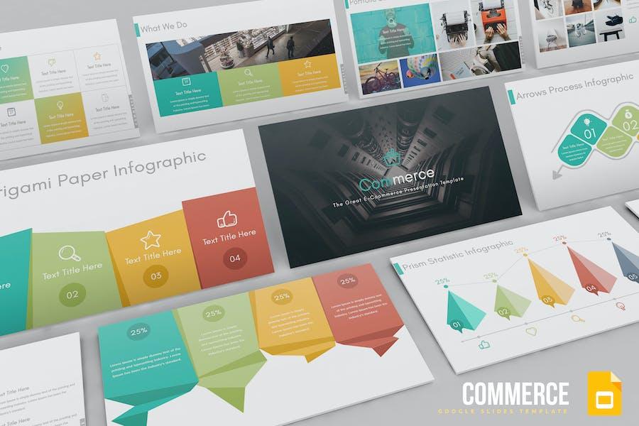 Commerce - Google Slides Template