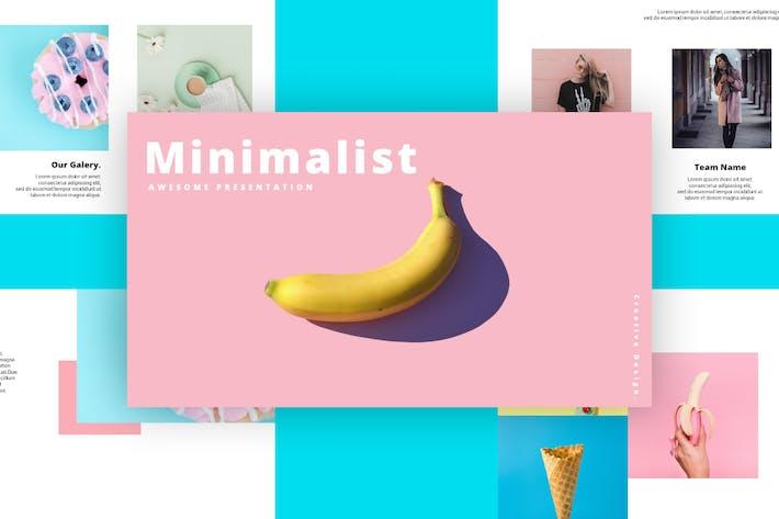 Thumbnail for Minimalist - Powerpoint Template