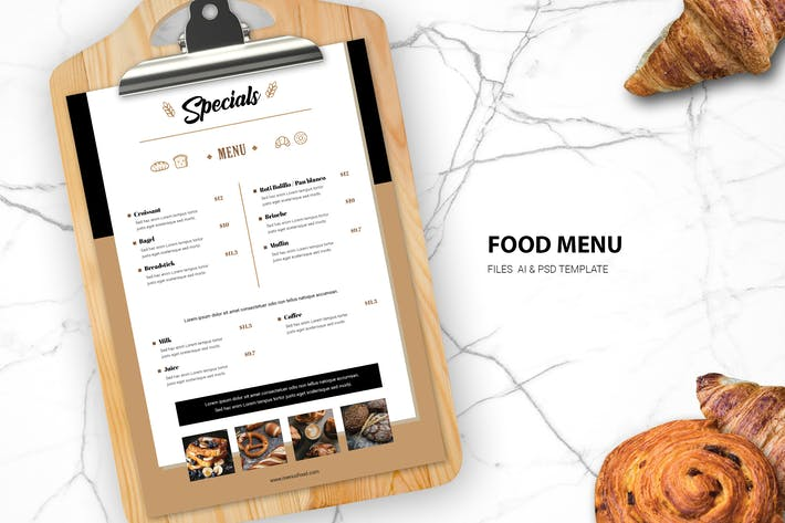 Thumbnail for Bread Parsty Food Menu