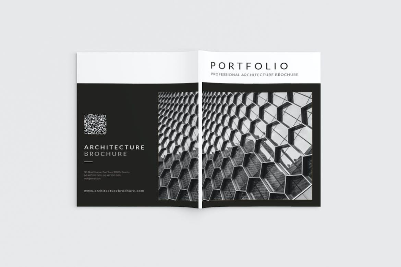 Architecture Portfolio Brochure by aqrstudio on Envato Elements