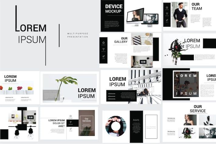 Thumbnail for Lorem Ipsum Google Slide Template