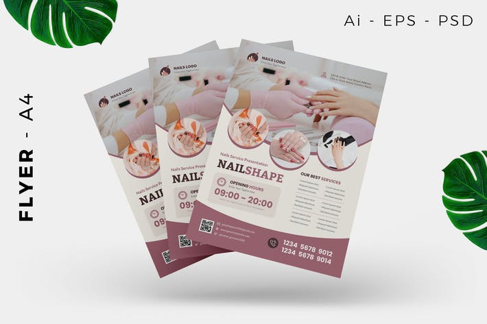 Nail Beauty Care Flyer Design