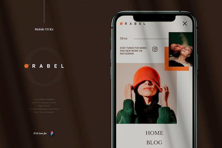 Thumbnail for Orabel Mobile UI Kit