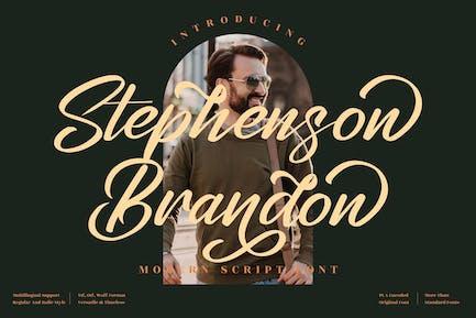 Stephenson Brandon Script LS