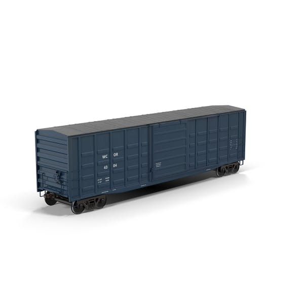 Cover Image for Freight Train Boxcar