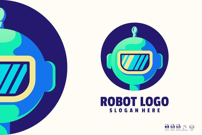 Thumbnail for Robot Logo template