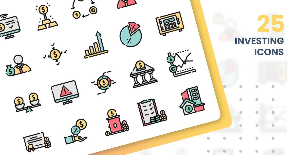 Download Investing Icons Set by grafikonteam