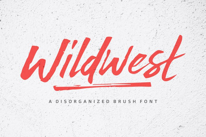 Thumbnail for Wildwest Font