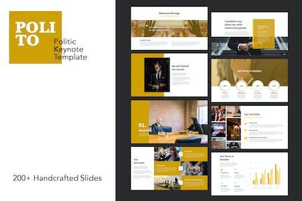 Polito - Politics Keynote Templates