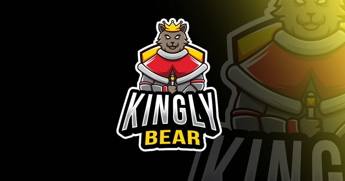 Download Kingly Bear Esport Logo Template by IanMikraz
