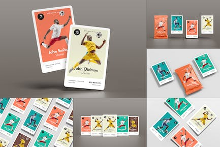 Trading Cards Mock-up