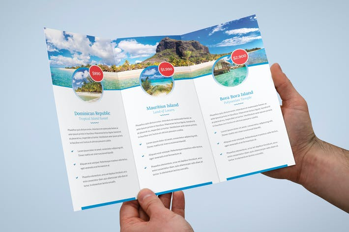 Cover Image For Brochure – Travel Agency Tri-Fold