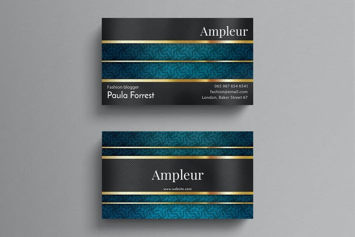Thumbnail for Luxury Business Card Template
