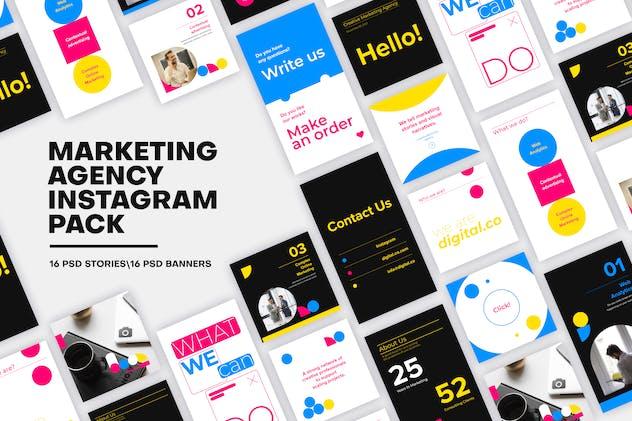 Marketing Agency Instagram Media Pack