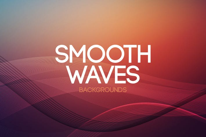 Smooth Waves Backgrounds
