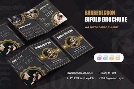 Barbereckon  Bifold Brochure