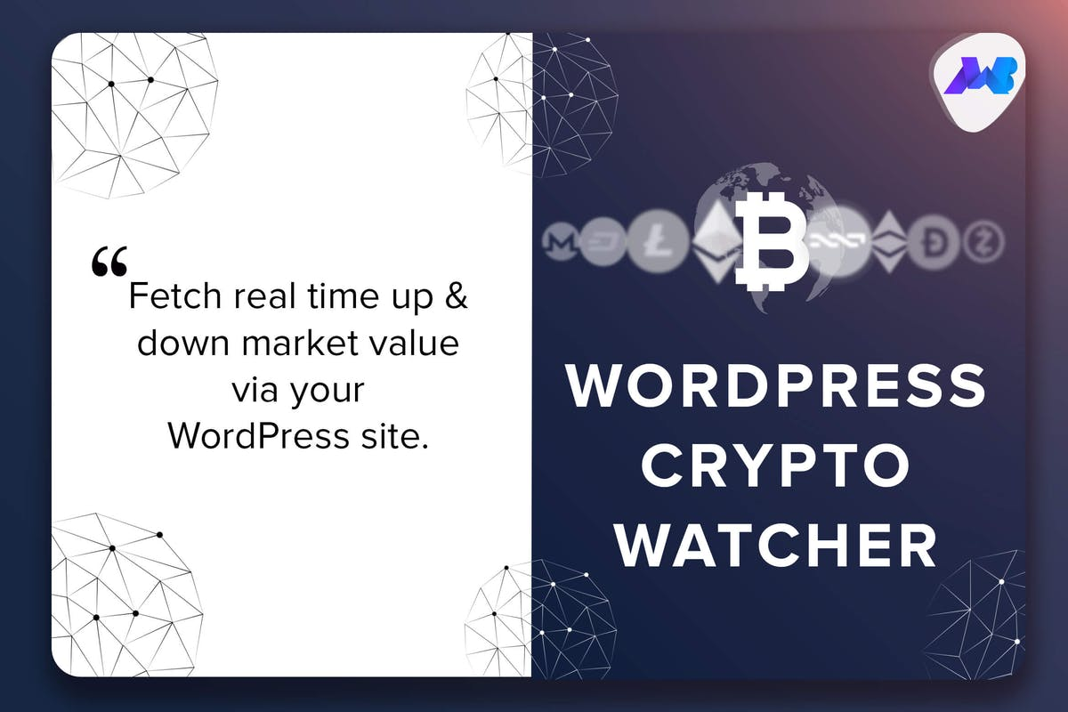 Download WordPress Crypto Watcher - Realtime Cryptocurrency by makewebbetter by Unknow